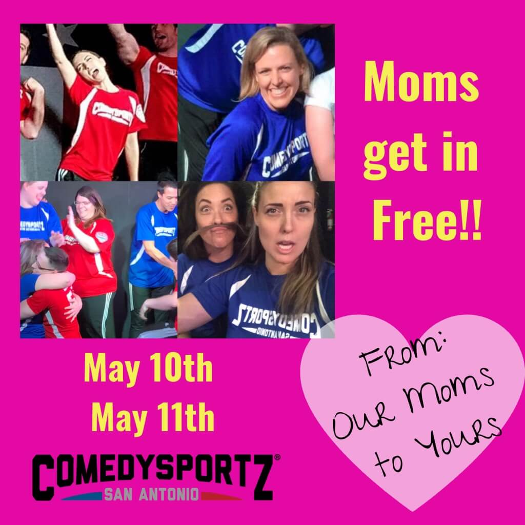 This weekend we're celebrating Moms!!! Moms get in Free!! So only purchase tickets for the not-moms this time around.